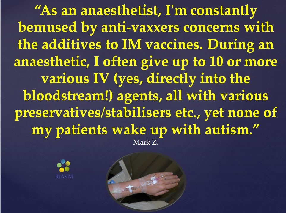 antivax myth vaccines contain dangerous toxic ingredients