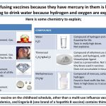 refusing vaccines because they have mercury in them is like thimerosa