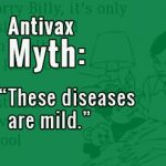 "Antivax Myth: ""These diseases are mild."""