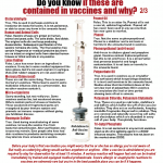 do you know if these are contained in vaccines why ingredients debunk 2of3